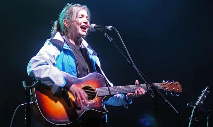 Nanci Griffith performing in Finsbury Park, London in 2011.