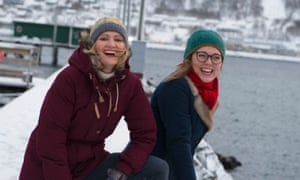 View finders: directors Gry Elisabeth Mortensen and Trude Berge Ottersen whose film Sealers – One Last Hunt was screened at Tromsø International Film Festival.