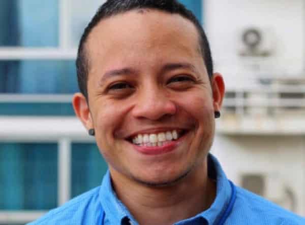 Pau González, founder of activist group Hombres Trans Panama