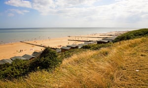 Beach at Frinton on Sea, Essex