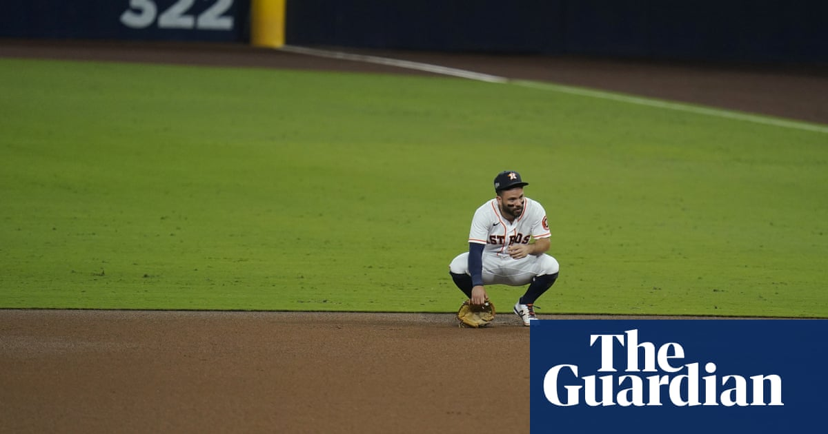 Altuves throwing yips have Houston Astros on brink of ALCS elimination