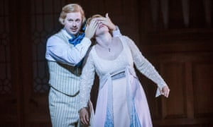John Chest (Pelléas) and Christina Gansch (Mélisande) at Glyndebourne.