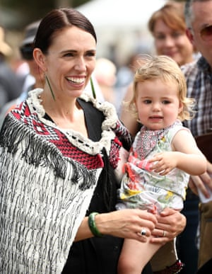 *** BESTPIX *** Waitangi Day Celebrated In New ZealandWAITANGI, NEW ZEALAND - FEBRUARY 04: New Zealand Prime Minister Jacinda Ardern (L) and her daughter Neve Gayford at the upper Treaty grounds at Waitangi on February 04, 2020 in Waitangi, New Zealand. The Waitangi Day national holiday celebrates the signing of the treaty of Waitangi on February 6, 1840 by Maori chiefs and the British Crown, that granted the Maori people the rights of British Citizens and ownership of their lands and other properties. (Photo by Fiona Goodall/Getty Images) *** BESTPIX ***