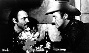 Bruno Ganz with Dennis Hopper in The American Friend, 1977