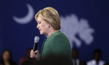 Hillary Clinton, the Democratic front runner, is coming under intense pressure from Bernie Sanders.