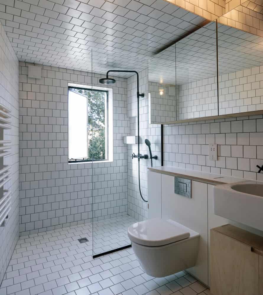 The spacious new bathroom.