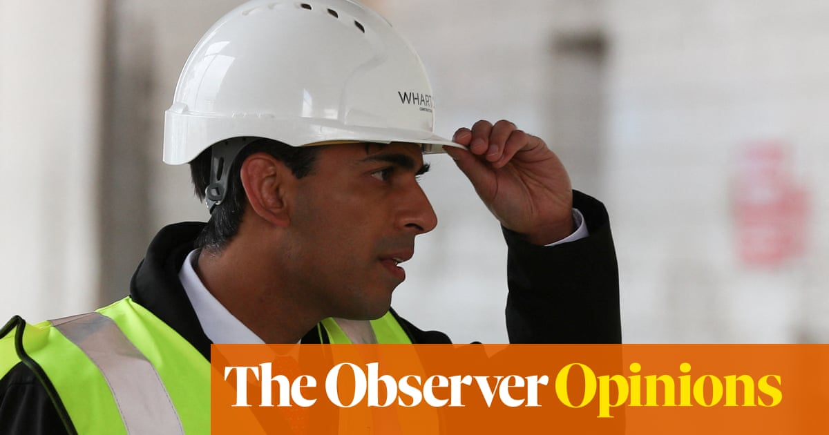 Rishi Sunak isn't gloating about the UK's economic recovery. He is wise not to