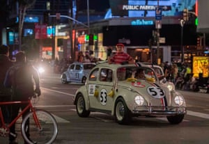 Cars from the Herbie films