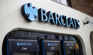 A Barclays high street branch