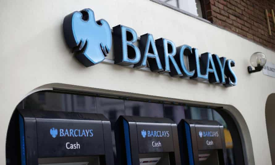A Barclays high street branch