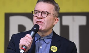Labour's deputy leader, Tom Watson, at a People's Vote rally in March.
