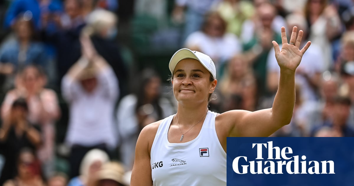'Touch and go': injury had threatened Ash Barty's Wimbledon dream