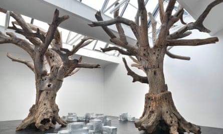 An installation at Ai Weiwei's Royal Academy of Arts show