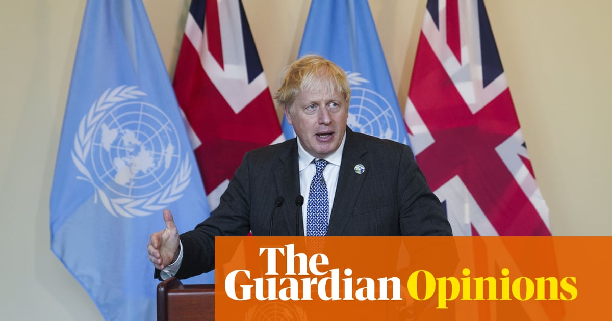 Johnson says he has changed his mind on the climate – but he's still dragging his feet