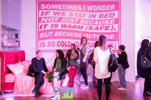 'About what you learn from gender in your bedroom' … Alabanza's installation All the Ways We Could Grow.
