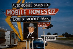 On the road to Reno, outside Memphis, 1960