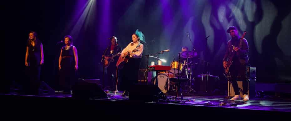 Frazey Ford performs with her band to an empty Commodore Ballroom.