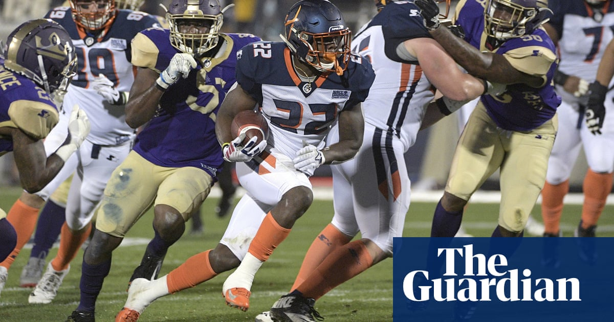 2afbabc95c1 The AAF makes successful debut as NFL's spring league – but will it last?  The Alliance of American Football ...