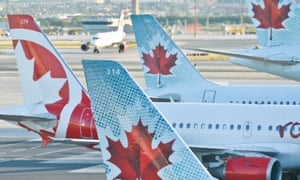Air Canada also said it was investigating the reports.