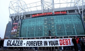 Manchester United have been owned by the Glazers for 13 years  No