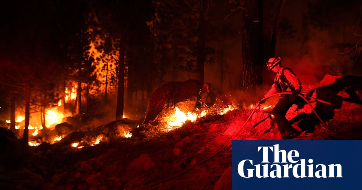 Lightning threatens California as fires continue to burn across the state