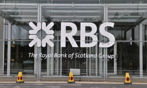 Signage of Royal Bank of Scotland