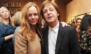 Stella McCartney with her father, Paul