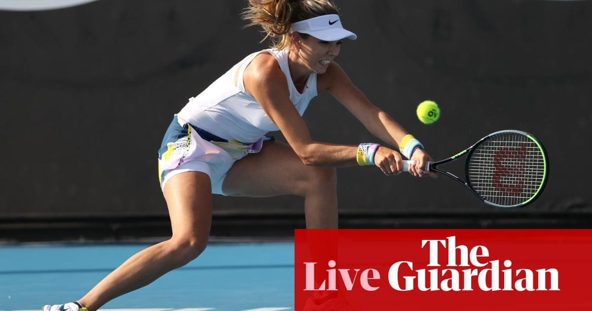 Australian Open 2020: Tsonga, Boulter, Kyrgios and Halep in action – live! - the guardian