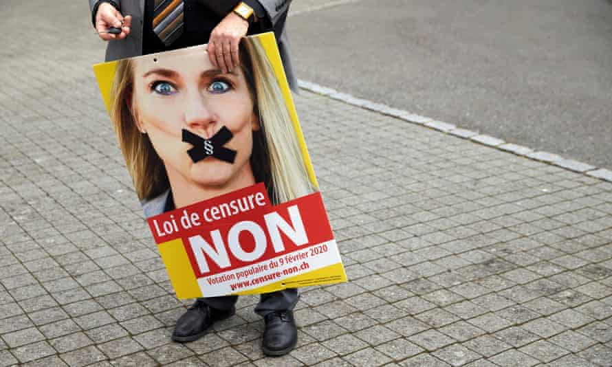 The Federal Democratic Union (EDU) party's campaign sought to frame the anti-discrimination law as an infringement of free speech.