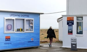 Voting in Dungeness, Kent