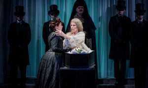 The Countess's funeral tips things towards melodrama … The Queen of Spades.