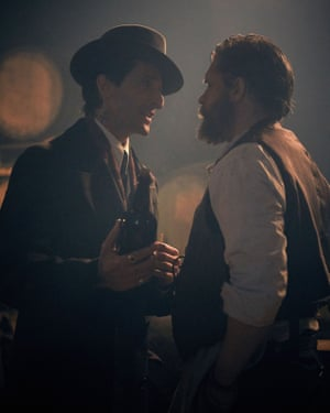 Ham on Wry: Adrien Brody as Luca Changretta and Tom Hardy as Alfie Solomons