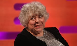 Miriam Margolyes during the filming for the Graham Norton Show