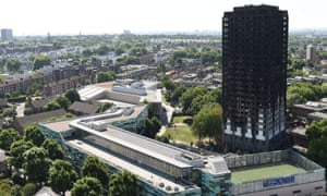 Many of the homes managed by NHH and Genesis are in sight of Grenfell Tower.