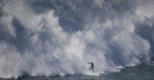 Brazilian surfer Carlos Burle