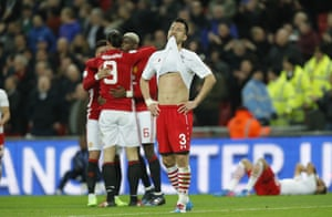 Yoshida dejected after Zlatan Ibrahimovic scores the winner.