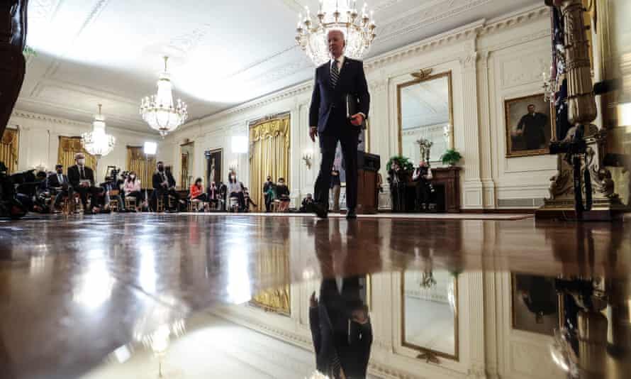 Joe Biden hosts first presidential press conference, 25 March 2021