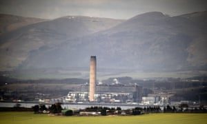 Longannet power station. Scotland will on Thursday witness an end to the coal age which fired its industrial revolution with the closure of the plant