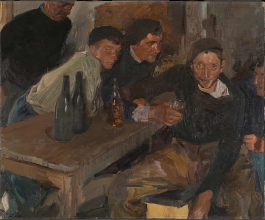 The Drunkard, Zarauz by Joaquín Sorolla