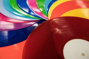 Norman Records's Phil Leigh: 'We could sell 100 copies of a coloured vinyl and not sell a single black one'.