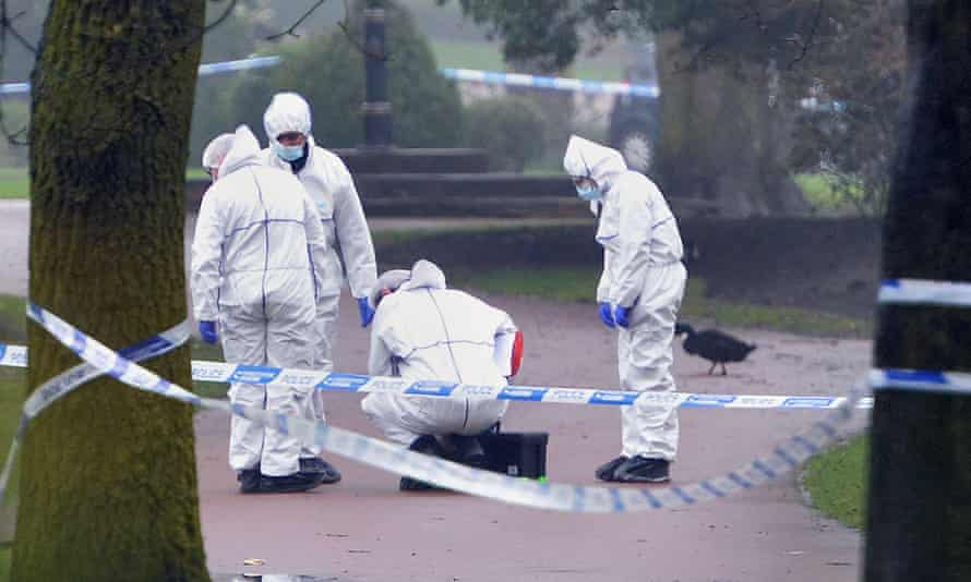 Body found in West Park - WolverhamptonFile photo dated 12/04/18 of forensic police at the scene in West Park, Wolverhampton, where 14-year-old Viktorija Sokolova's body was found. A teenage boy has been charged at Dudley Magistrates' Court for the rape and murder of the Lithuanian-born youngster. Issue date: Monday April 16, 2018. A second teenage boy, aged 17, who was arrested on suspicion of murder, has been bailed pending further investigation. See PA story COURTS Park. Photo credit should read: PA Wire