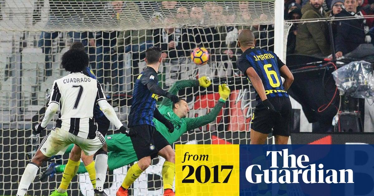 Juan Cuadrado rocket drives Juventus past Internazionale in