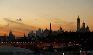 The Kremlin, Moscow … Jason Matthews explores Russian political influence.