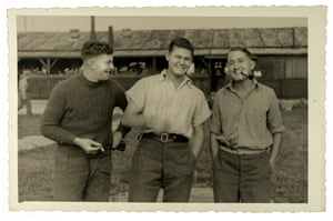 German propaganda picture of British POW's (Peter Dorley-Brown, middle) 1941