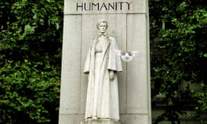 A monument to Edith Cavell in London