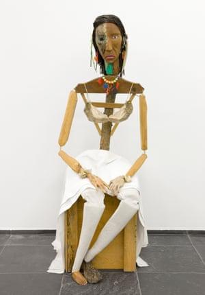 Jimmie Durham, Malinche, 1988-1992.
