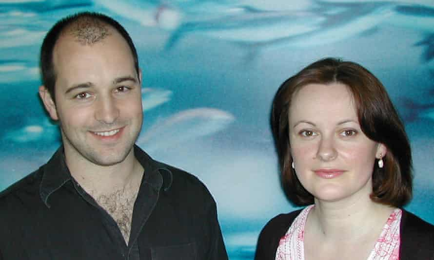 Co-founders of Futerra, Ed Gillespie and Solitaire Townsend