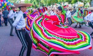 A mariachi and charros festival in Guadalajara.