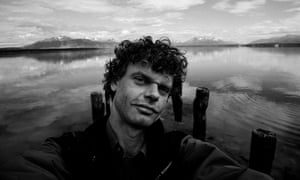 Wild selfie … the photographer in Patagonia.