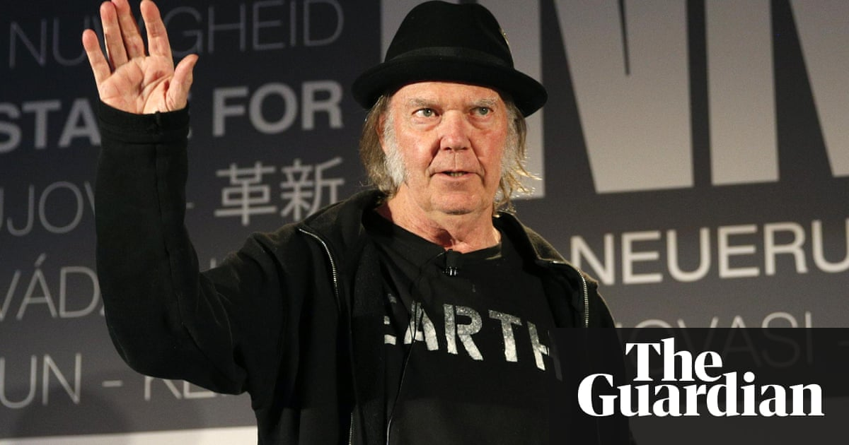 Neil Young permits Trump to Keep on Rockin'   Music   The Guardian